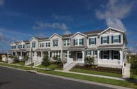 Townhomes – Owners generally own the land the home sits on often including a small front and/or back patio/yard